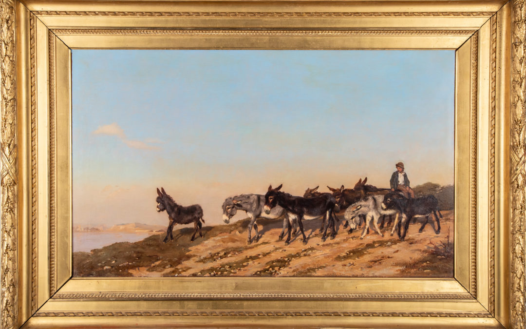 Les Ânes dans le Midi – 1874