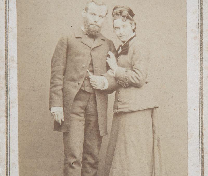 Mariage d'Eugène et Julia Burnand